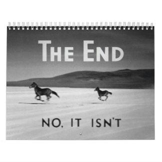The End 2012 Calendar