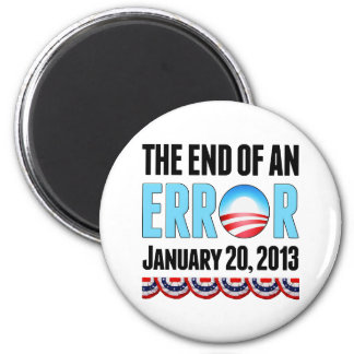 The End of An Error January 20, 2013 Obama Magnet