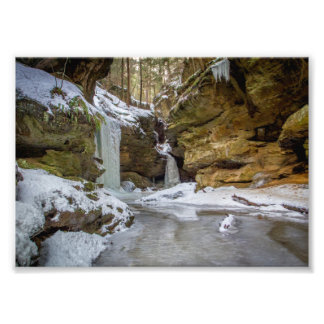 The End of Conkle's Hollow, Ohio Photo Print