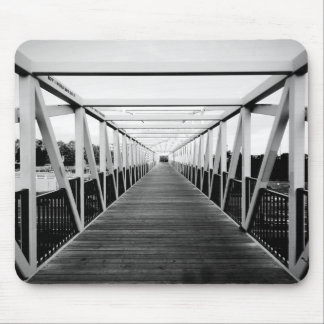 The End Of The Bridge Mouse Pad