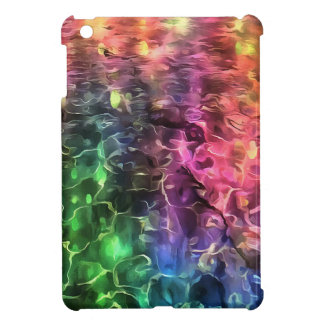 The End Of The Rainbow Abstract iPad Mini Cover