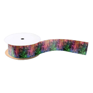The End Of The Rainbow Abstract Satin Ribbon