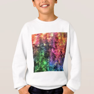 The End Of The Rainbow Abstract Sweatshirt