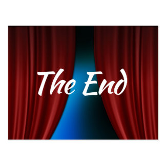 The End Postcard