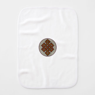 The Endless Knot Burp Cloth