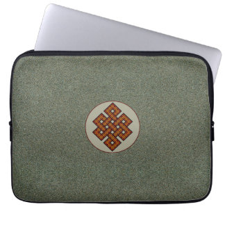 The Endless Knot II Laptop Sleeve