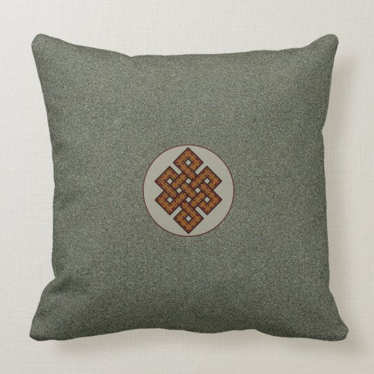The Endless Knot II Throw Pillow