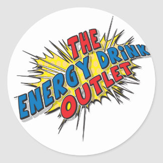 The Energy Drink Outlet - sticker