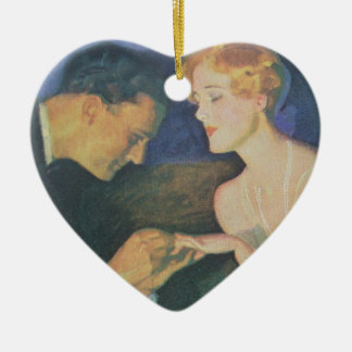 The Engagement Ceramic Ornament