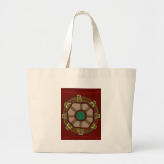 The Engine of The World Large Tote Bag