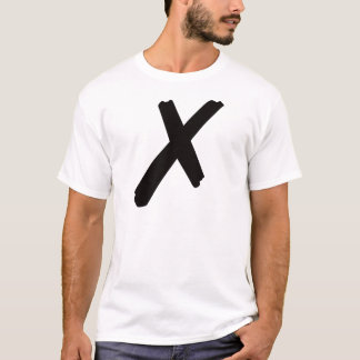 """The English American Letter """"X"""" T-Shirt"""