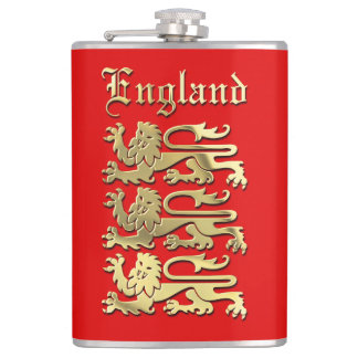 The English Coat Of Arms Flasks
