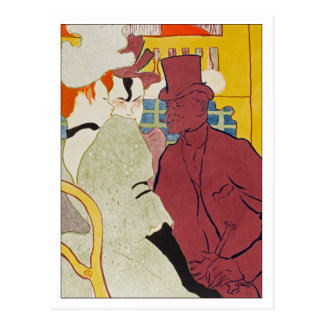 The Englishman by Toulouse-Lautrec Postcard
