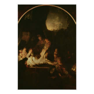 The Entombment, c.1639 Poster