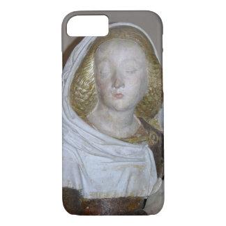 The Entombment, detail of a female saint, 1490 (pa iPhone 7 Case