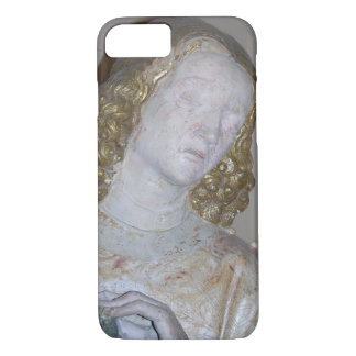 The Entombment, detail of a saint holding the crow iPhone 7 Case