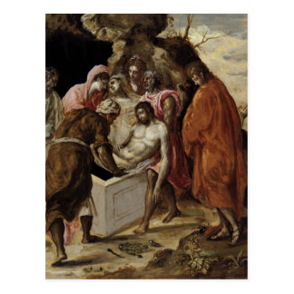 'The Entombment of Christ' Postcard