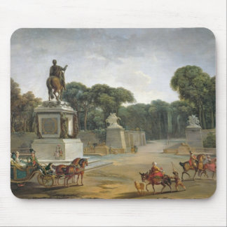The Entrance to the Tuileries from the Place Mouse Pad