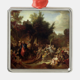 The Entry of Christ into Jerusalem, c.1720 Metal Ornament