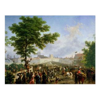 The Entry of Napoleon Bonaparte Postcard