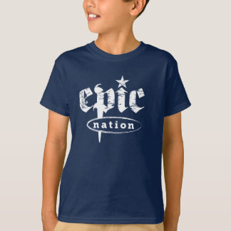 """The Epic Nation"" Original Logo Kids Tshirt"
