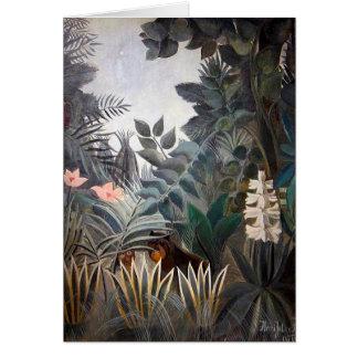 The Equatorial Jungle Card