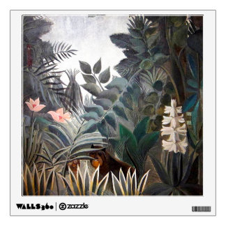 The Equatorial Jungle Wall Sticker