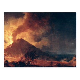 The Eruption of Mount Vesuvius in 1771 Postcard