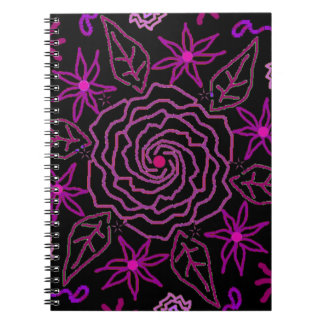 The Essence of Rose Notebook