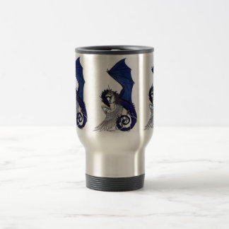 The Eternal Embrace Unicorn and Dragon Travel Mug