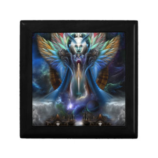 The Eternal Majesty Of Thera Fractal Portrait Gift Box