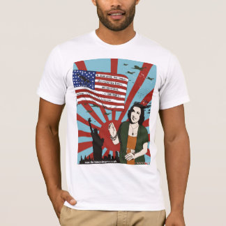 The ''Ethel Merman NYC Pearl Harbor WW2'' t-shirt