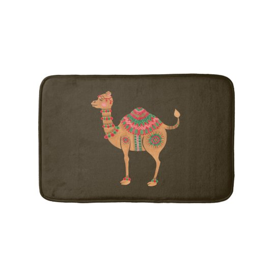 The Ethnic Camel Bath Mat