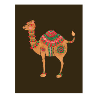 The Ethnic Camel Postcard