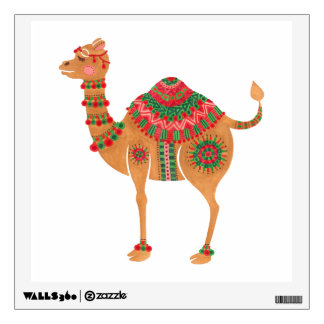 The Ethnic Camel Wall Decal