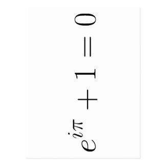 The Euler formula Postcard