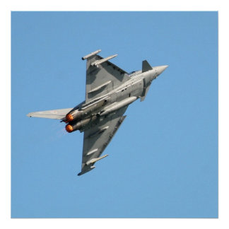 """The Eurofighter Typhoon 24"""" x 24"""" Poster"""