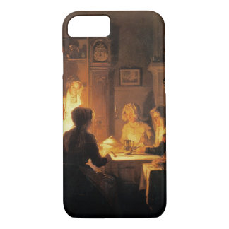 The Evening Meal, c.1900 (oil on canvas) iPhone 7 Case