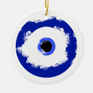 The Evil Eye Ceramic Ornament