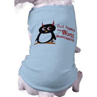 The Evil Penguin tm Dog Shirt