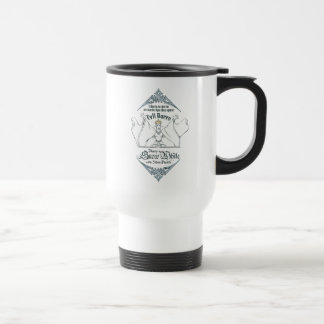 The Evil Queen | Objects in Mirror Travel Mug