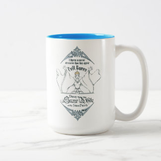 The Evil Queen | Objects in Mirror Two-Tone Coffee Mug