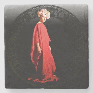 The evocation of Elagabalus Stone Beverage Coaster