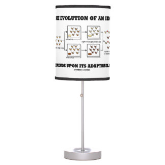 The Evolution An Idea Depends Upon Adaptability Table Lamp