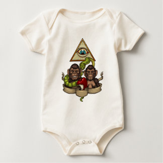 The evolution baby bodysuit