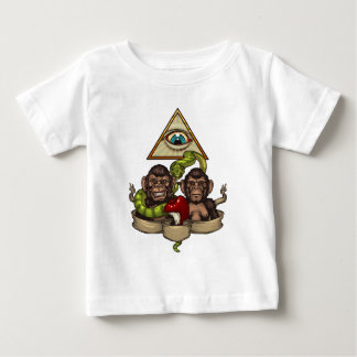 The evolution baby T-Shirt