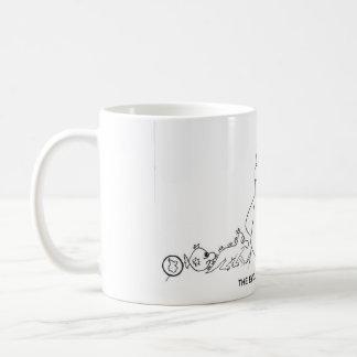 The Evolution of Pudge McFudge™ Coffee Mug