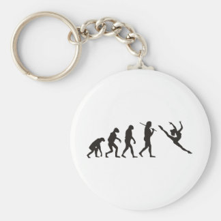 The Evolution of the Dancer Basic Round Button Keychain