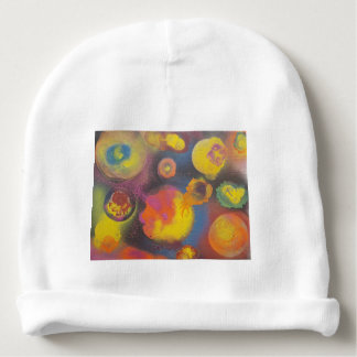 The Evolving Micro-Universe Baby Beanie