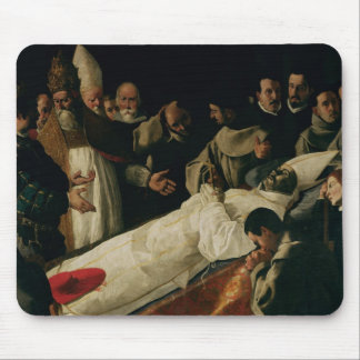 The Exhibition of the Body of St. Bonaventure Mouse Pad